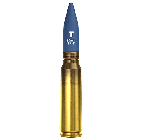20x102mm EX-T Exercício Traçante (TP-T) M220