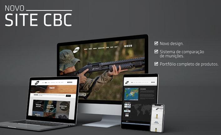 Companhia Brasileira de Cartuchos lança novo site!