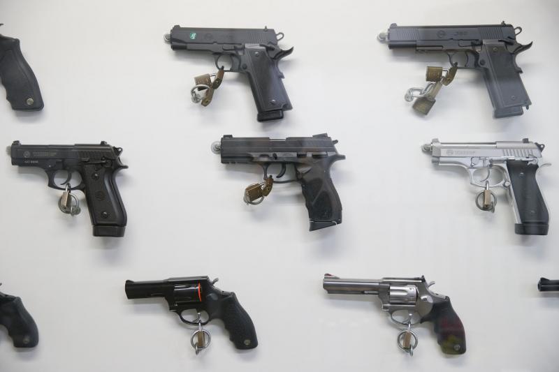 Uma arma de fogo é registrada a cada 35 minutos em Santa Catarina em 2019