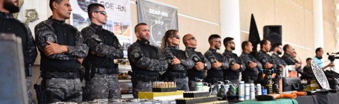 Governo do RN entrega armamentos da Taurus e da CBC para reforçar o sistema prisional.