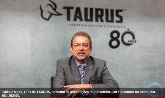 """Salesio Nuhs (TAURUS): """"Importações generalizadas podem se constituir em avassaladora ameaça para a sobrevivência da BID"""