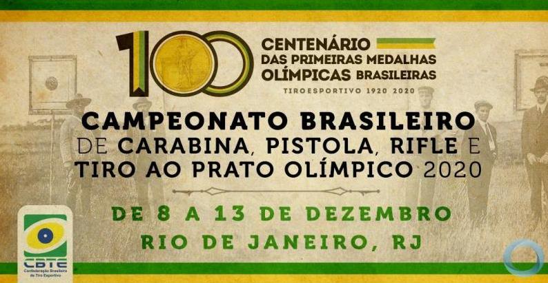 Centenário das primeiras medalhas olímpicas brasileiras é comemorado no maior evento do tiro
