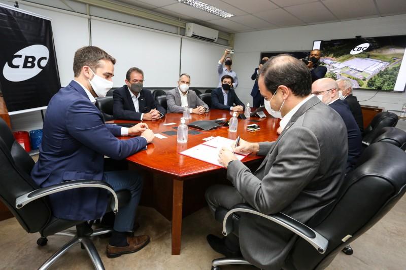 Estado e CBC assinam protocolo de intenções que prevê investimento de R$ 20 milhões até 2025