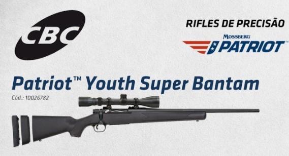 CBC traz ao Brasil os rifles de precisão Mossberg Patriot nos calibres .308 e 6,5