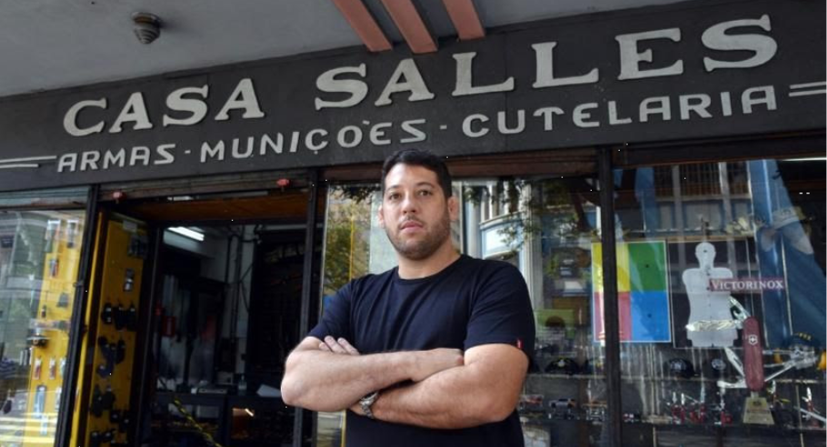 Casa Salles, primeira loja de armas e munições em Minas Gerais, completa 140 anos.
