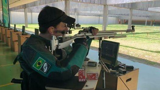 Alexandre Galgani, atleta patrocinado pela CBC e TAURUS, representará o Brasil no tiro esportivo nas Paralímpiadas de Tóquio